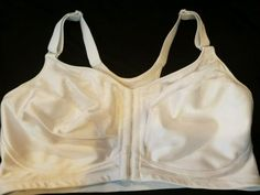 a775288ed1d Playtex 18 Hour White 4643 Wirefree Front Closure Bra NEW Without Tags