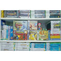 Interesting one by dan.vgcollection #gameboy #microhobbit (o) http://ift.tt/2cYYoD1 it was a good time to dedicate a shelf to the Pokèmon collection. Still need to find some boxes for the FR/LG and OG R/S GBA games. So many spin-offs to obtain some day as well but got all the essentials to keep me going for the time being. #pokemon #pocketmonsters #pokemon20 #nintendo  #n64 #gamecube #wii #wiiu #nintendods #3ds #gamesroom #igersnintendo #ninstagram