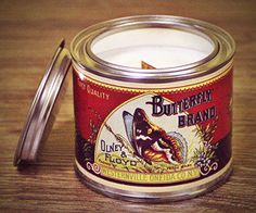 Candles bulk, container candle, best scented candles by VINTAGE CANDELLA Bulk Candles, Soy Wax Candles, Scented Candles, Candle Containers, Coffee Cans, Vintage Style, Tin, Designers, Organic