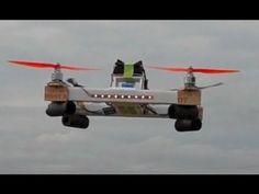 Cheapest Super Light Quadcopter Frame $5 & 180 grams - Multirotor - YouTube