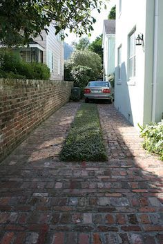 Thyme and Brick Driveway