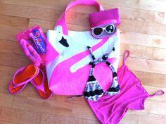 Fab Flamingo DIY Tote Bag | AllFreeSewing.com