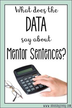 If you've been considering using mentor sentences and need more proof that it's a best practice for the classroom, check out data from Jivey's case study!