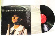 Barbra Streisand Album Columbia Records LP 33 CS 8807 Pop Music #1960sEasyListening