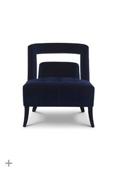 Naj is a classic modern armchair with straight lines fully upholstered in cotton velvet. Ideal por a modern bedroom or a dressing room.