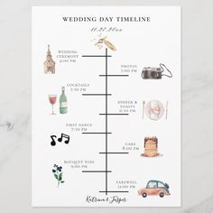 Check out this sample wedding reception timeline and use it as a template for your own wedding day! Engagement Timeline, Wedding Checklist Timeline, Wedding Day Checklist, Wedding Schedule, Wedding Planning Tips, Wedding Preparation Checklist, Wedding Checklist Detailed, Wedding Budget Breakdown, Wedding Checklists