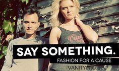 'The Vanity Project' เสื้อยืดมีดีไซน์สนับสนุน ส่งเสริมกิจการเพื่อสังคม