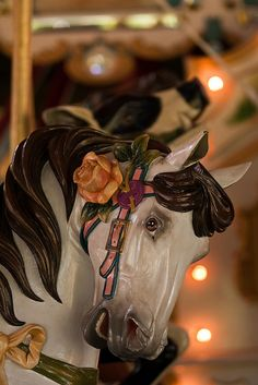 Greenfield Village Carousel Horse