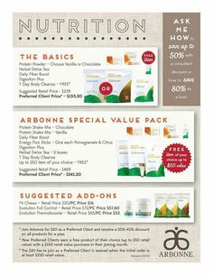 Arbonne special value packs! • Preferred Clients receive 20%-50% off every item! • Join my team as an Independent Consultant & receive 35%-50% off every item! • whitneyarmstrong.arbonne.com