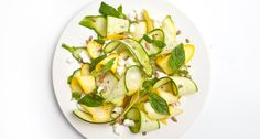 Squash, sunflower seed & feta salad #healthy