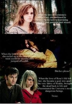 Rose and the doctor always win!