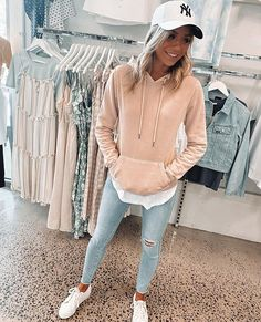 Source by casual spring outfits Comfy Travel Outfit, Travel Outfit Summer, Cute Travel Outfits, Pastel Outfit, First Date Outfits, Spring Outfits, Mode Outfits, Casual Outfits, Weekend Outfit