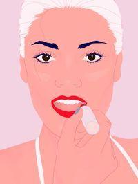Lippenstift richtig auftragen ist eine Kunst für sich. Aber keine Sorge: Mit unserer Schritt-für-Schritt-Anleitung geht's super einfach - versprochen!