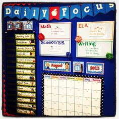 daily focus board