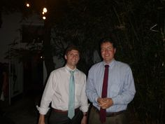 #Lawyer Evan Guthrie with Christopher Romeo of Thurmond Kirchner Timbes Yelverton at the Charleston Lawyers Club Happy Hour at Fuel in Charleston, SC on Wednesday November 5th 2014.