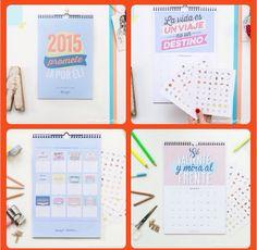 Calendario de pared Mr.Wonderful