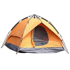 Hengfey Outdoors Camping 4 Person Double Layer 4 Seasons Dome Tents