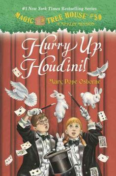 """""""Join Jack and Annie as they as they meet one of the world's most famous illusionists - Harry Houdini!""""~Publisher"""