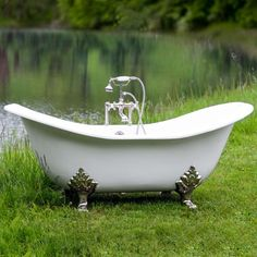 Search results for: inch cast iron double slipper clawfoot tub buchanan' Clawfoot Tub Bathroom, Bathroom Spa, Remodeling Mobile Homes, Home Remodeling, Cast Iron, It Cast, Cottage Style Bathrooms, Outdoor Baths, Outdoor Showers