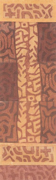 Ann Symes - Kuba 5  Japanese style woodblock print