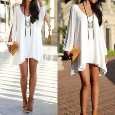 New Hot Sexy Women Summer Casual Sleeveless Party Evening Cocktail Short Dress #NEW #Blouson #Casual