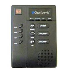 ClearSounds CLS-ANS3000 digital amplified answering machine  with slow speech #ClearSounds