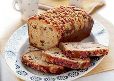 Cinnamon-Chip and Pecan Loaf Cake - Bon Appétit