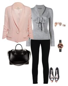"""""""Untitled #146"""" by styledbyafrica on Polyvore featuring Olivia Burton, STELLA McCARTNEY, Alice + Olivia, Alexander McQueen, Givenchy, GUESS, women's clothing, women, female and woman"""