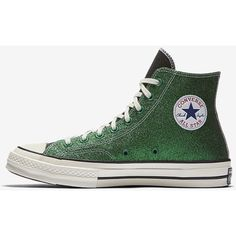 Converse x JW Anderson Chuck 70 Unisex High Top Shoe. Nike.com ❤ liked on Polyvore featuring shoes, sneakers, hi tops, high-top sneakers, unisex sneakers, unisex shoes and high top trainers