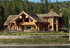 ( Pioneer Log Homes )