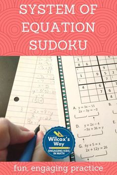 Great way to practice systems of equations with these awesome puzzles! MATHEMATIC HISTORY Mathematics is Math Quotes, Math Memes, Math Humor, Math Facts, Math Teacher, Math Classroom, Teaching Math, Kindergarten Math, Teacher Stuff