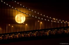 Bay Bridge with Full Moon – Daniel Leu | Photography