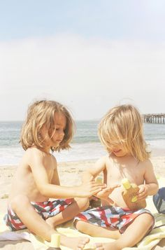 little boy surfer hair <3