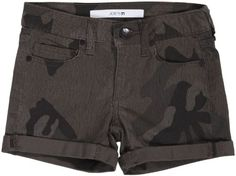"Joe's Jeans Kids Girls' 3"" Roll Shorts (Toddler/Kid) - Dayna Camo - 5. Dress."