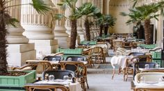 Wait till the #weather's nice to lounge around among the #palms under the #elegant arcades of the Grand Palais.  https://en.myroomin.com/lifestyle/ea07aecd-ad48-11e4-9