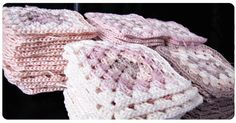 Cómo unir Granny Squares para hacer una manta granny square