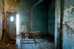 North Brother Island - Riverside Hospital  Typhoid Mary worked in the pathology lab here after the second time she was captured and confined to the hospital.