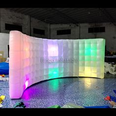 Find More Advertising Inflatables Information about Top design medium 4M curve led inflatable wall for display,High Quality led wall pack,China wall restaurants Suppliers, Cheap wall charger for ipod touch from bingoinflatables on Aliexpress.com