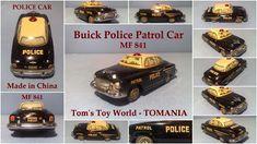 BUICK MF 841 POLICE PATROL CAR MADE IN CHINA - TOMANIA