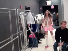Cara Delevingne | Victoria's Secret Fashion Show 2012 backstage