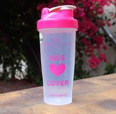 Glowing Green Smoothie Lover Bottle