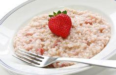 Senza pregiudizi, prova il risotto alle fragole e vedrai che resti a bocca aperta...