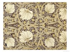 Pimpernell, Design For Wallpaper, Morris, William Giclee Print by William Morris at AllPosters.com
