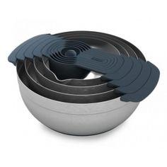 Nest 100 -rozsdamentes keverőtál készlet