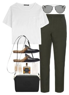 """Untitled #1984"" by roxy-camarena on Polyvore featuring ORLEY, rag & bone, Gucci, Christian Dior, Mulberry, Marc by Marc Jacobs, Forever 21, women's clothing, women and female"