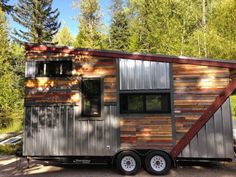 """""""The Cowboy"""" Blends Rustic And Modern Styles Into One.  #TinyHouseforUs"""