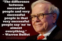 Warren Buffet said the difference between successful people and very successful people is that very successful people say no to almost everything. Are you old enough to remember the AOL-Time Warner merger that led to a 90% drop in the company's stock price and is considered one of the worst deals in Wall Street history.