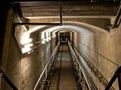 United Kingdom > Corsham > Wiltshire's Secret Underground City: The Burlington Nuclear Bunker Below a historic English market town lies a secret underground city complete with kitchens, laundries, storerooms, a pub, and an underground lake