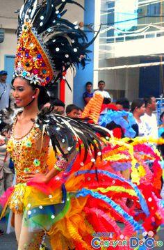 Cagayan de Oro Carnival Parade Clash of Festive Acts and Carnival Queens National High School, Festive, Queens, Friendship, Carnival, Costumes, Activities, Beautiful, Cagayan De Oro