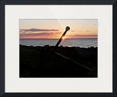 """Anchor and midnight sun"", Reykjavík, Iceland. By Maria Zambruno, Spain //  // Imagekind.com -- Buy stunning fine art prints, framed prints and canvas prints directly from independent working artists and photographers."